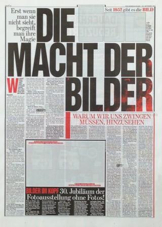 BILD feiert 30 Jahre BILDER IM KOPF von Michal Schirner